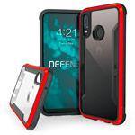 Чехол X-doria Defense Shield для Huawei P20 lite (красный, маталлический)