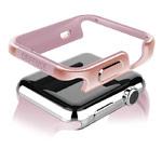 Чехол X-doria Defense Edge для Apple Watch Series 2 (38 мм, розово-золотистый, маталлический)