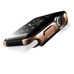 Чехол X-doria Defense Edge для Apple Watch Series 2 (42 мм, золотистый, маталлический)