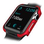 Чехол X-doria Defense Edge для Apple Watch Series 2 (38 мм, красный, маталлический)