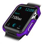 Чехол X-doria Defense Edge для Apple Watch Series 2 (42 мм, фиолетовый, маталлический)