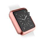 Чехол X-doria Revel Case для Apple Watch Series 2 (38 мм, розово-золотистый, пластиковый)