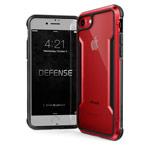 Чехол X-doria Defense Shield для Apple iPhone 6/7/8 (красный, маталлический)