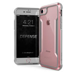 Чехол X-doria Defense Shield для Apple iPhone 6/7/8 (розово-золотистый, маталлический)