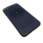 Чехол Marvel Avengers Leather case для Apple iPhone 8 plus (Captain America, кожаный)