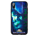 Чехол Marvel Avengers Hard case для Apple iPhone X (Hulk, пластиковый)