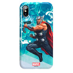 Чехол Marvel Avengers Hard 3D case для Apple iPhone X (Thor, пластиковый)