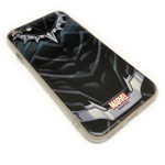 Чехол Marvel Avengers Hard case для Apple iPhone 8 (Black Panther, пластиковый)