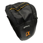 Сумка Sony Carrying Bag Aplha для фотоаппарата (черная, 170x120x80 мм)