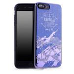 Чехол Seedoo Navigate case для Apple iPhone 8 plus (синий, гелевый)