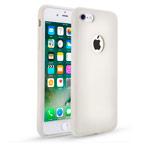 Чехол Seedoo Delight case для Apple iPhone 8 (белый, силиконовый)
