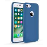 Чехол Seedoo Delight case для Apple iPhone 8 (синий, силиконовый)