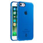 Чехол Seedoo Grace case для Apple iPhone 8 (синий, гелевый)