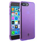 Чехол Seedoo Grace case для Apple iPhone 8 plus (фиолетовый, гелевый)