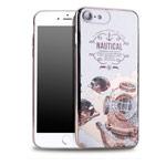 Чехол Seedoo Navigate case для Apple iPhone 8 (белый, гелевый)