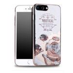 Чехол Seedoo Navigate case для Apple iPhone 8 plus (белый, гелевый)