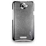Чехол Navjack Matrix Series case для HTC One X S720e (серый, пластиковый)