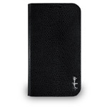Чехол Navjack Vellum Series case для Samsung Galaxy S4 i9500 (черный, кожанный)