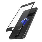 Защитное стекло SeeDoo Full Coverage для Apple iPhone 8 plus (черное)