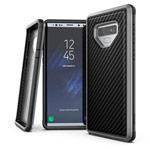 Чехол X-doria Defense Lux для Samsung Galaxy Note 9 (Black Carbon, маталлический)