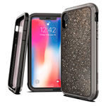 Чехол X-doria Defense Lux для Apple iPhone XR (Crystal Black, маталлический)
