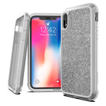 Чехол X-doria Defense Lux для Apple iPhone XR (Crystal White, маталлический)