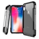 Чехол X-doria Defense Clear для Apple iPhone XR (черный, пластиковый)