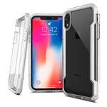 Чехол X-doria Defense Clear для Apple iPhone XR (белый, пластиковый)