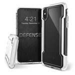 Чехол X-doria Defense Clear для Apple iPhone XS max (белый, пластиковый)