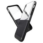 Чехол X-doria Dash case для Apple iPhone XR (черный, кожаный)