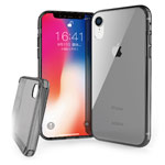 Чехол X-doria ClearVue для Apple iPhone XR (серый, пластиковый)
