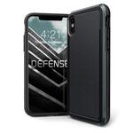 Чехол X-doria Defense Ultra для Apple iPhone XS max (черный, маталлический)