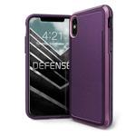 Чехол X-doria Defense Ultra для Apple iPhone XS max (фиолетовый, маталлический)
