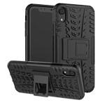 Чехол Yotrix Shockproof case для Apple iPhone XR (черный, пластиковый)