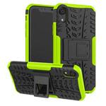 Чехол Yotrix Shockproof case для Apple iPhone XR (зеленый, пластиковый)