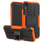 Чехол Yotrix Shockproof case для Apple iPhone XR (оранжевый, пластиковый)