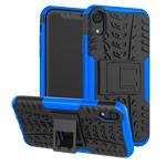 Чехол Yotrix Shockproof case для Apple iPhone XR (синий, пластиковый)