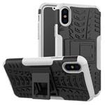 Чехол Yotrix Shockproof case для Apple iPhone XS max (белый, пластиковый)