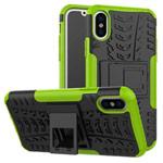Чехол Yotrix Shockproof case для Apple iPhone XS max (зеленый, пластиковый)