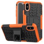 Чехол Yotrix Shockproof case для Apple iPhone XS max (оранжевый, пластиковый)
