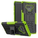 Чехол Yotrix Shockproof case для Samsung Galaxy Note 9 (зеленый, пластиковый)