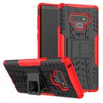 Чехол Yotrix Shockproof case для Samsung Galaxy Note 9 (красный, пластиковый)