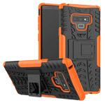 Чехол Yotrix Shockproof case для Samsung Galaxy Note 9 (оранжевый, пластиковый)