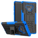 Чехол Yotrix Shockproof case для Samsung Galaxy Note 9 (синий, пластиковый)