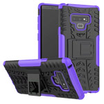 Чехол Yotrix Shockproof case для Samsung Galaxy Note 9 (фиолетовый, пластиковый)