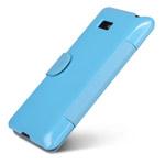Чехол Nillkin Side leather case для HTC Desire 600 dual sim (голубой, кожанный)