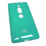 Чехол Mercury Goospery Jelly Case для Sony Xperia XZ2 premium (бирюзовый, гелевый)