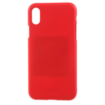 Чехол Mercury Goospery Soft Feeling для Apple iPhone XR (красный, силиконовый)