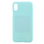 Чехол Mercury Goospery Soft Feeling для Apple iPhone XR (бирюзовый, силиконовый)