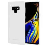 Чехол Mercury Goospery Soft Feeling для Samsung Galaxy Note 9 (белый, силиконовый)